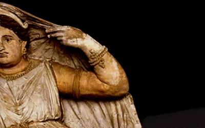 Etruscans Portrait Etruscan Faces