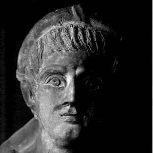 Etruscans Portrait Etruscan Faces Man Marco Delogu Etruscan Corner