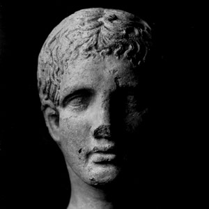 Etruscans Portrait Etruscan Faces Young Man Marco Delogu Etruscan Corner