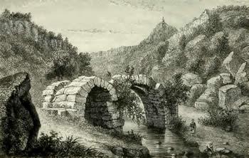 Etruscan Corner Blera Necropolis Etruscan Bridge