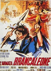 Tuscia for Film Fanatics Monicelli Armata Brancaleone Flyer
