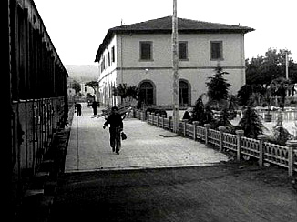 Tuscia for Film Fanatics Fellini Viterbo Railway Station I Vitelloni