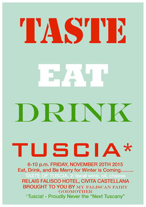 Etruscan Corner Taste of Tuscia Faliscan Fairy Civita Castellana Eng