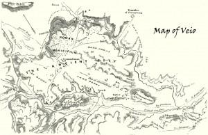 Mappa di Veio Etruscan Corner