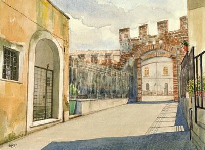 Carlo Grechi Pittore Cerveteri Via S. Maria Aria Il Portale - Etruscan Corner
