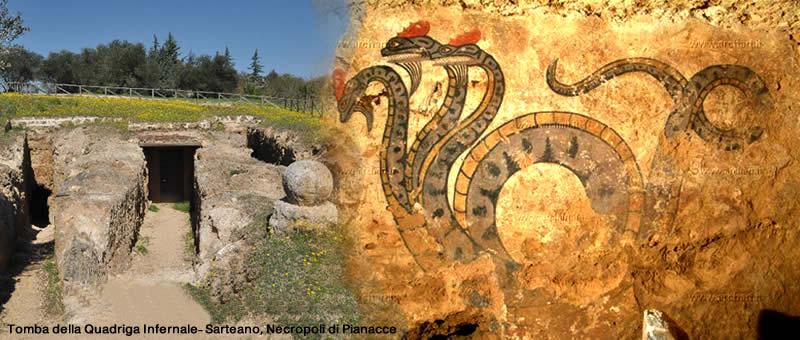 Etruscan Corner Tombe e Necropoli Connesstione trail Piano Fisico e Piano Eterico