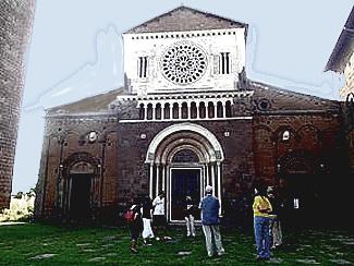 Etruscan Corner Tuscia Film Orson Welles Othello Chiesa di San Pietro Tuscania