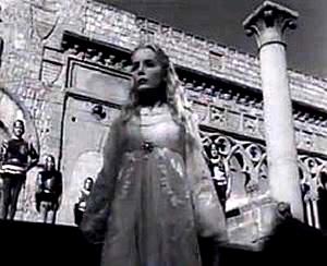 Etruscan Corner Tuscia Film Orson Welles Othello Chiesa San Pietro Tuscania