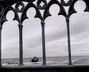 Tuscia Location di Film entrati nella Storia del Cinema Orson Welles Othello Loggia Palazzo dei Papi Viterbo