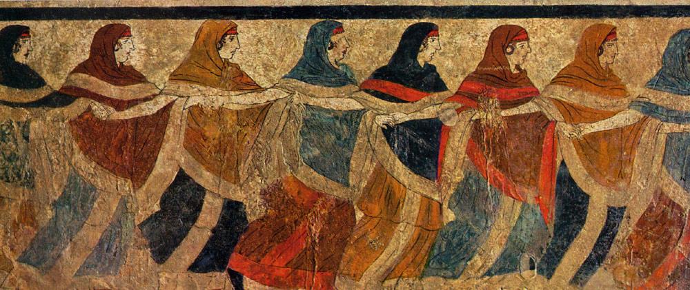 Riti Etruschi di Sepoltura