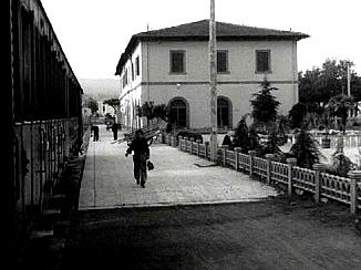 Etruscan Corner Tuscia Film Fellini Vitelloni Stazione Porta Fiorentina Viterbo