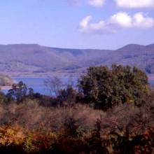 Etruscan Corner Lago di Vico e Monti Cimini Macchia Panorama