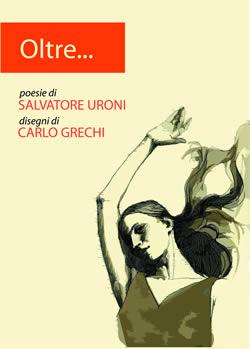 Salvatore Uroni Copertina Libro Oltre Disegni Carlo Grechi Etruscan Corner