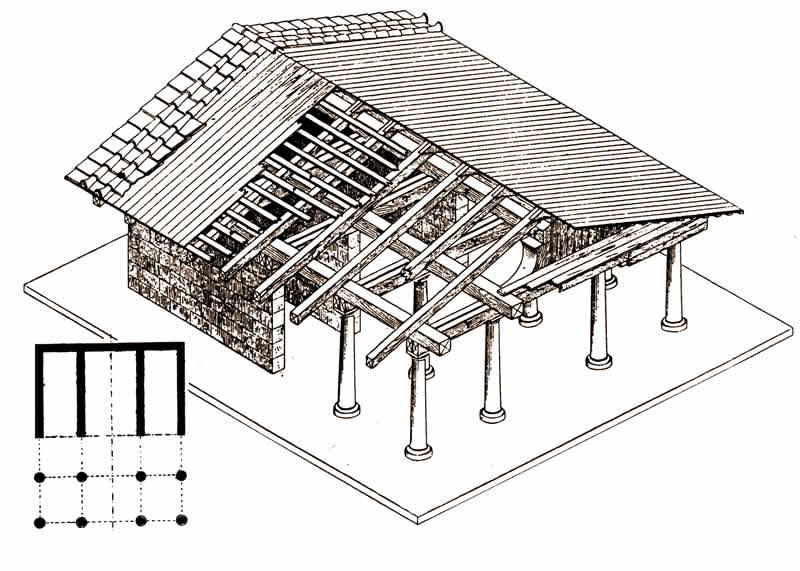 Santuari Etruschi Ricostruzione Acquarossa Etruscan Corner