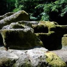 Acropoli diAcquarossa Altare Sacrificale Dettaglio Vasche Etruscan Corner