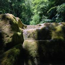 Acropoli diAcquarossa Altare Sacrificale Vista Frontale Etruscan Corner