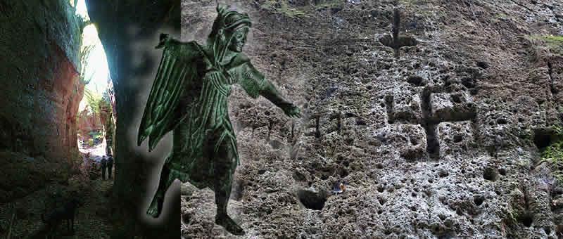 Etruscan Corner Tagliate Vie Cave Etrusche