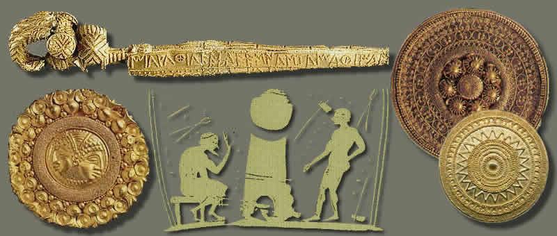 Metallurgia Etrusca Rame Ferro Bronzo Oro