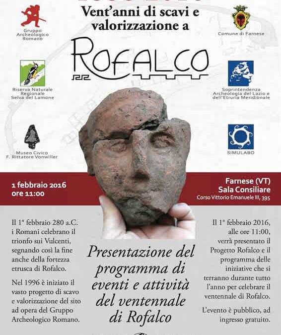 Ventennale Scavi Fortezza Etrusca di Rofalco