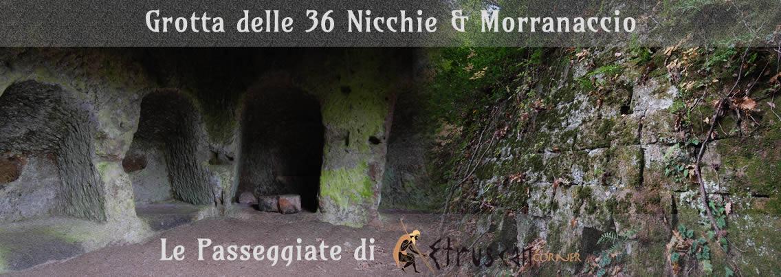 Grotta delle 36 Nicchie e Morranaccio Le Passeggiate Etruscan Corner