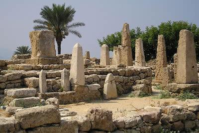 Etruschi e Popoli del Mare. Obleschi di Byblos