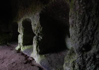Morranaccio Grotta delle 36 Nicchie Camere Ascensionali Le Passeggiate di Etruscan Corner