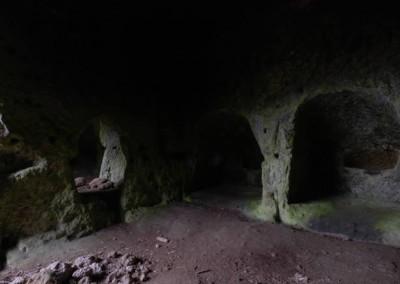 Morranaccio Grotta delle 36 Nicchie Stanza Uno Le Passeggiate di Etruscan Corner