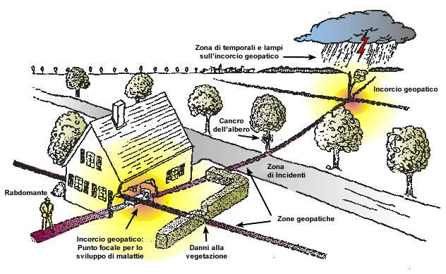 Aruspici Lettura del Fegato Zone Geopatiche. Incroci Geopatici e loro effetti
