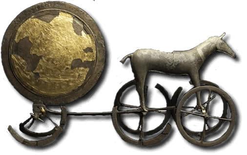 Calendario Etrusco Popoli e Calendari. Carro del Sole di Trundholm