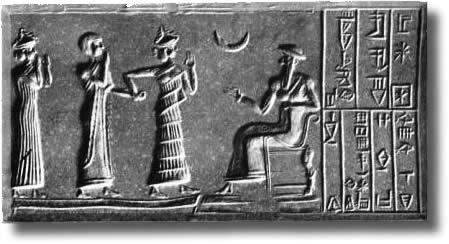 Calendario EtruscoPopoli e Calendari. Culto della Luna dei Babilonesi