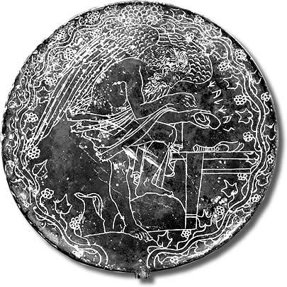 Specchi Etruschi Calcante Indovino Veggente Greco