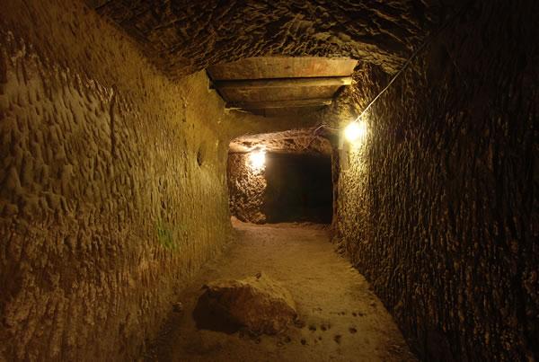 Il Tumulo della Cuccumella a Vulci Corridoio Etruscan Corner