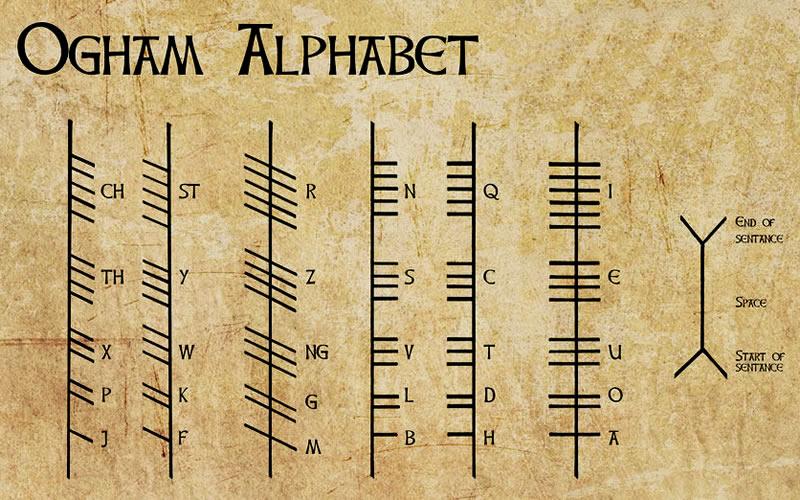 Alfabeto Ogam o Arboreo