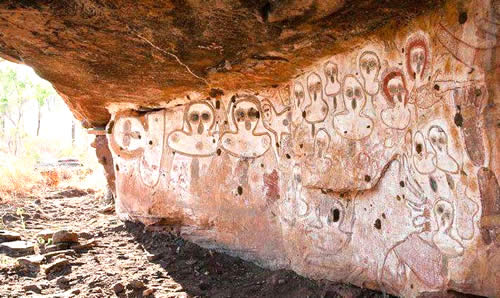 Grotte Sacre Aborigeni Australia Estruscan Corner