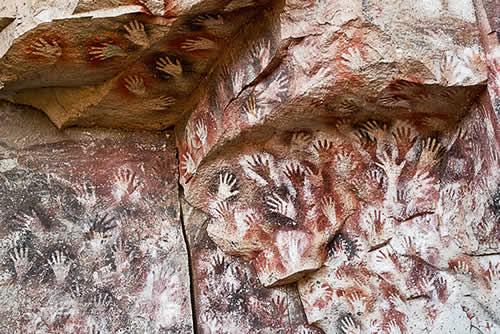 Grotte Sacre Cuevas De Las Manos Argentina Estruscan Corner