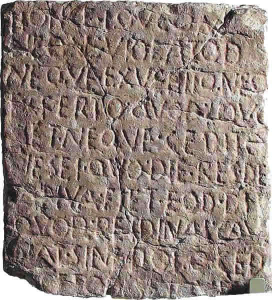 Lex Spoletina Boschi Sacri Etruscan Corner