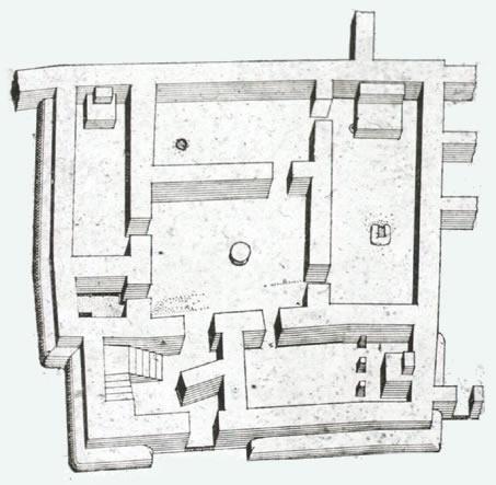 Tempio Quadrato Tell Asmar Abu Dio Della Vegetazione