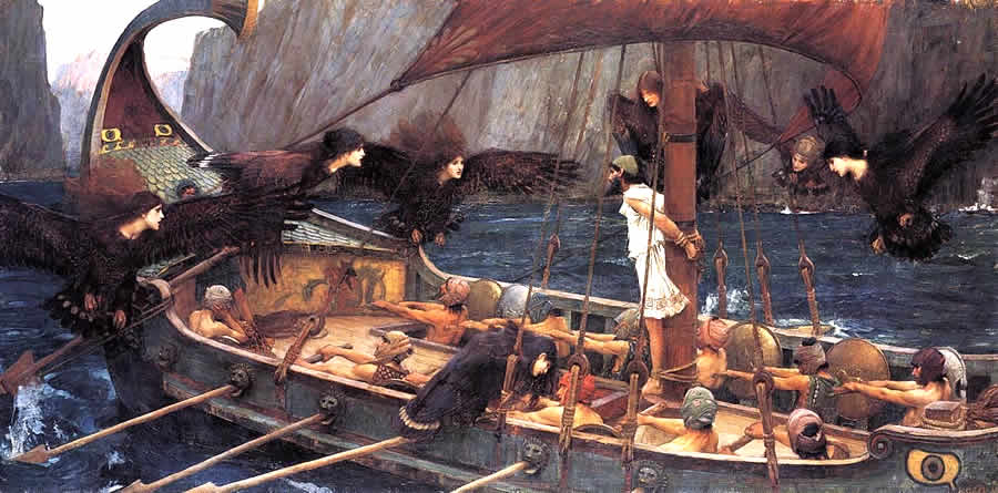 La Memoria Condivisa dei Popoli Europei JW Waterhouse Ulisse e le Sirene