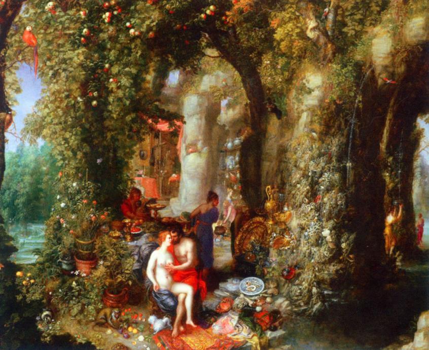 La Memoria Condivisa dei Popoli Europei Jan Brueghel der Ältere Odysseus and Calypso