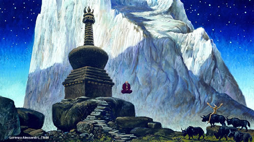 Potenza del Suono Levitazione Acustica Tibet Lorenzo