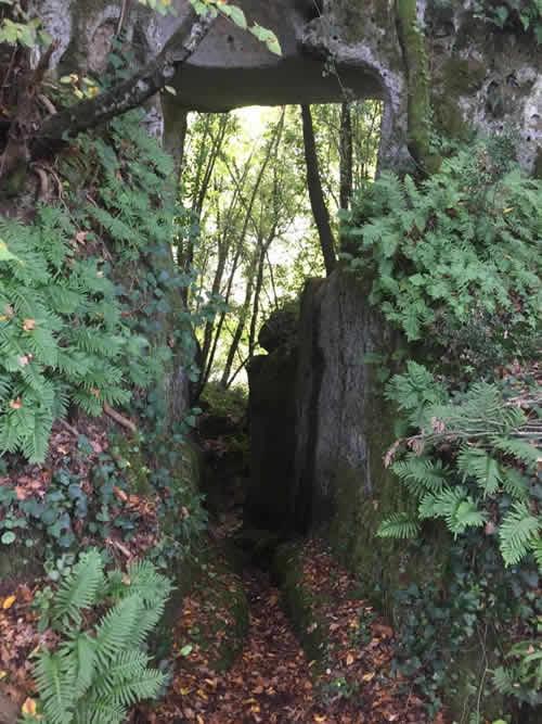 Passeggiata alla Grotta di Settecannelle - Passaggio