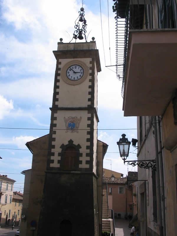 Antiquarium di Piansano Torre dell'Orologio