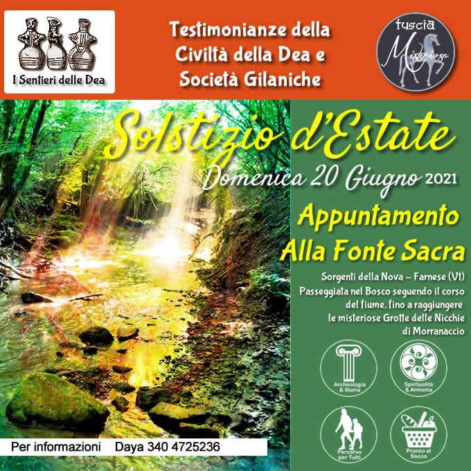 Etruscan Corner - Solstizio Estate 2021 - Locandina