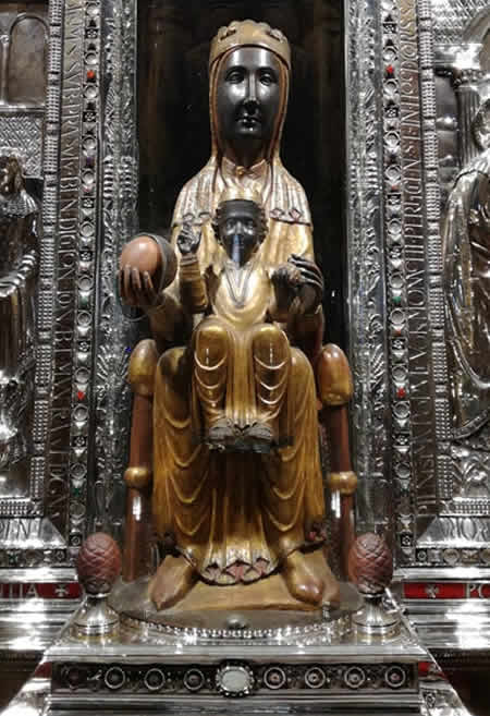 Madonne Nere Madonna sul Montserrat - Barcellona