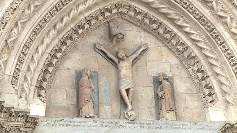 Numerologia Templare Crocifissione a Y