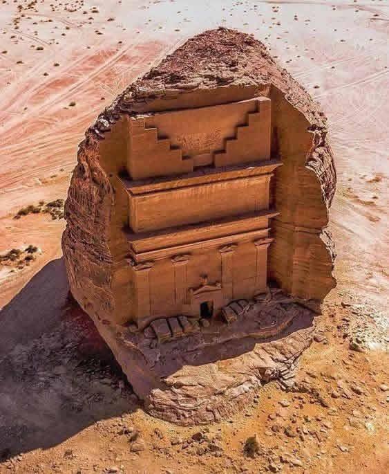 Scritto Nella Roccia - Al-Ula - Qasr al-Farid