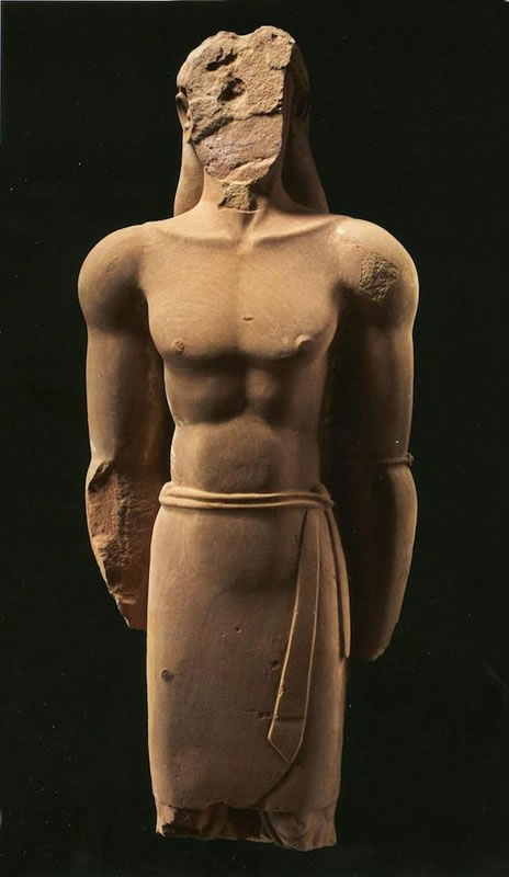 Scritto Nella Roccia - Al-Ula - Statua Arenaria