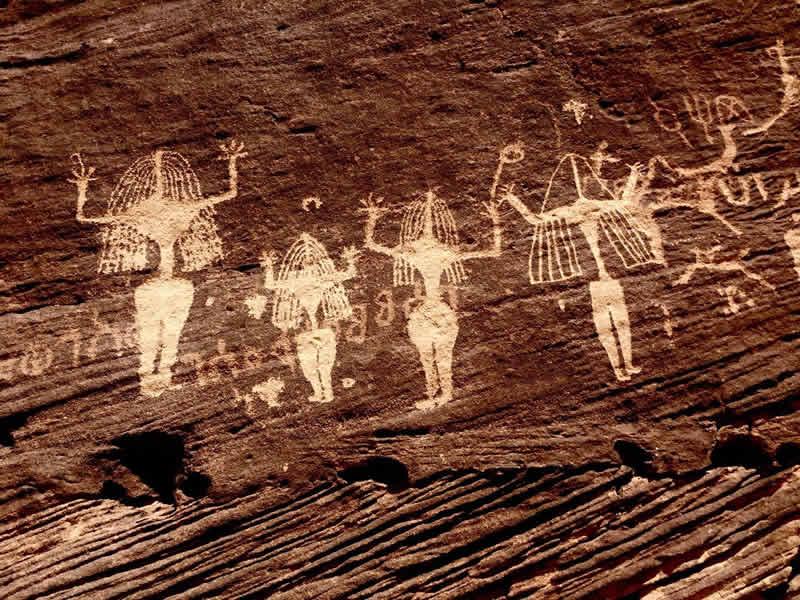 Scritto Nella Roccia - Bi'r Hima - Petroglifi - Al-Lat