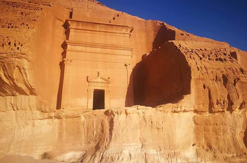 Scritto Nella Roccia - Mada'in Saleh - Qasr al Bint IGN 20