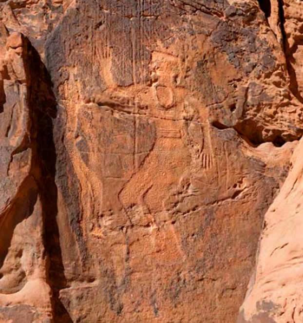 Scritto Nella Roccia - Parte 4 - Jubbah - Re con Guerriero